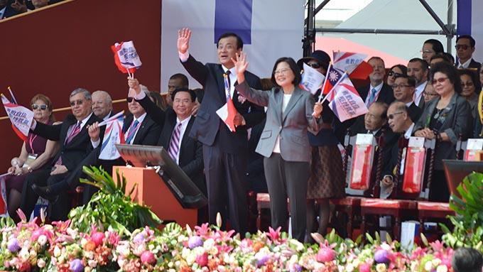 台湾・蔡英文総統~中国の一国二制度に拒絶姿勢