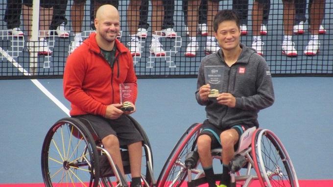 車椅子テニスの部が新設!楽天オープン2019を新行市佳が取材