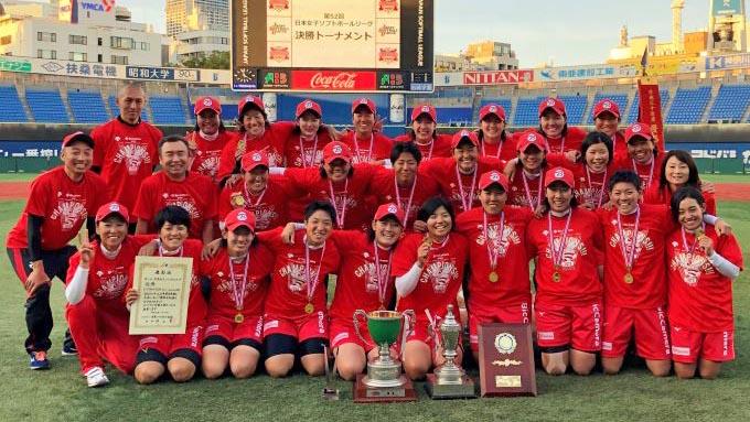 女子ソフト オリンピックを前に上野が躍動~ビックカメラ2年ぶり3度目の優勝