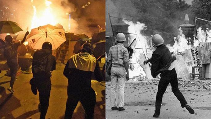 日本の「全共闘」のプロセスに似る香港デモ~その相似点