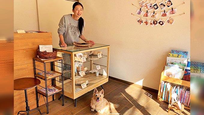 元タカラジェンヌが嫁ぎ先で、実家の愛犬のために新作パンを考案