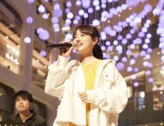 愛の泉@WHITE KITTE 武藤彩未さんのステージ。