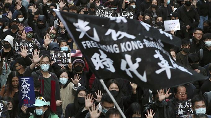 香港区議会選挙後初の大規模デモ~現地では何が行われているのか