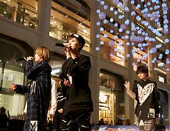 愛の泉@WHITE KITTE ライブステージ ael-アエル-