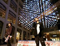 愛の泉@WHITE KITTE ライブステージ D.Y.T