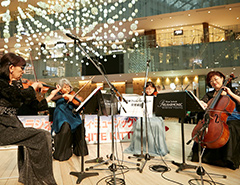 愛の泉@WHITE KITTE 日本を代表する新日本フィルハーモニー交響楽団