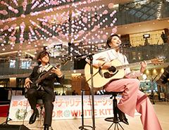愛の泉@WHITE KITTE ライブステージ Little Black Dress