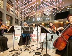 愛の泉@WHITE KITTE ジブリ映画の音楽を担当した新日本フィルハーモニー