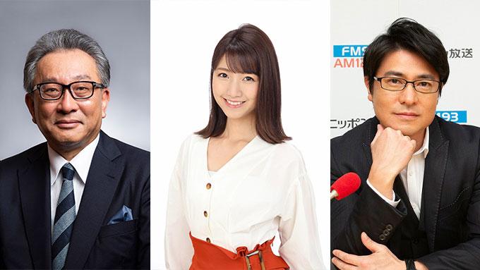 フジテレビ社長&三田アナウンサーに元TBSアナ 安東が直撃!