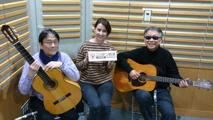 2月のゲストはゴンチチのゴンザレス三上さんとチチ松村さん「政井マヤ世界ぐるっとカフェトーク」