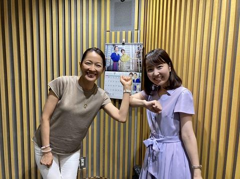 羽田美智子さん熊谷実帆アナ